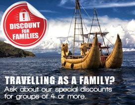 Discounts for Families / Group Bookings