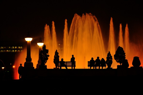 Dancing Fountains of Lima