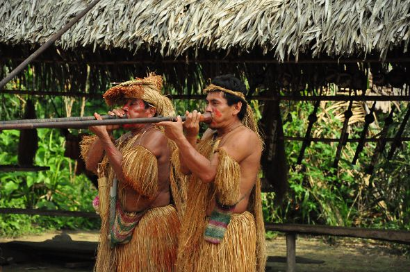 Yagua Tribe, Iquitos Amazon Region