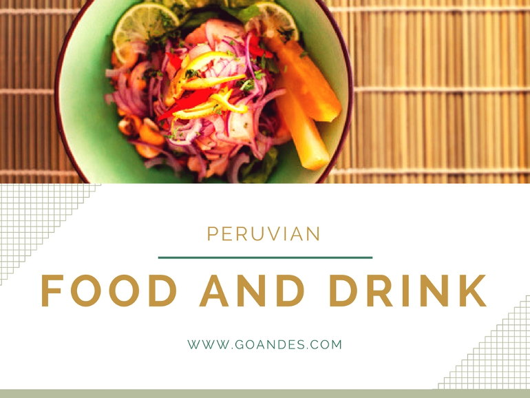 peruvian food drink