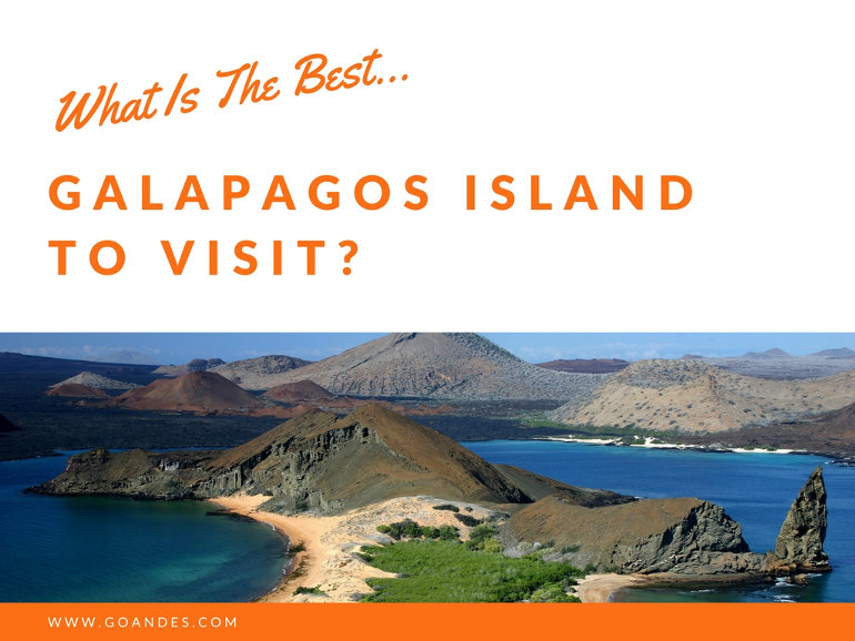 What Is The Best Galapagos Island To Visit?