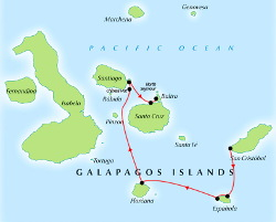 5 Day Galapagos Itinerary Example