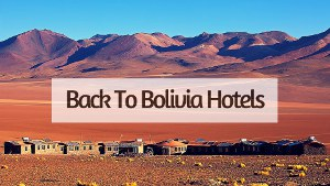 back to bolivia hotels