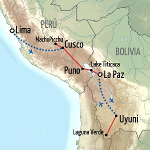 Best of Peru and Bolivia Holiday