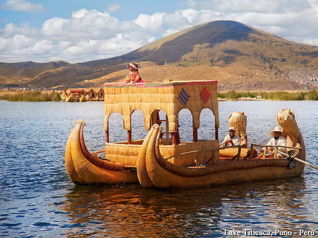 Lake Titicaca - Uros Islands