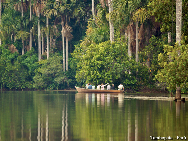 Tambopata - Amazon Boat Ride