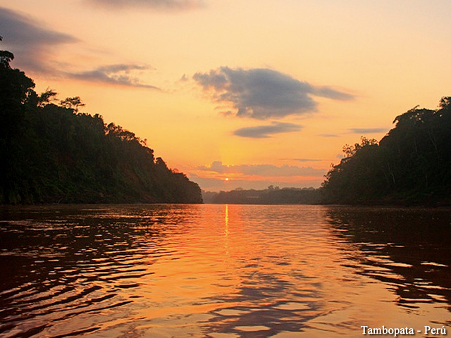 Tambopata - Amazon Sunset