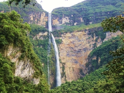 Nigel's Go Andes Peru Holiday Blog - Gocta Waterfall
